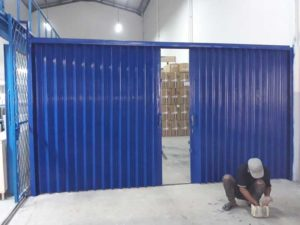 Rolling door manual, Jasa rolling door